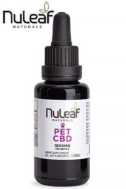Full Spectrum Hemp CBD Pet Oil 1800mg