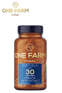 undefined - One Farm by WAAYB CBD Softgels 30mg 60ct