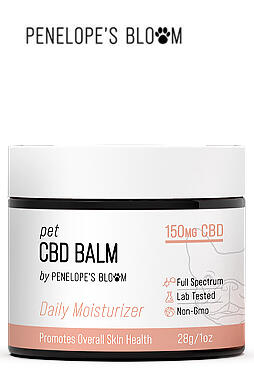 CBD Pet Balm for Dogs & Cats 150mg