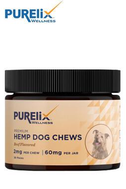 Purelix Wellness - Hemp Dog Chews 60mg