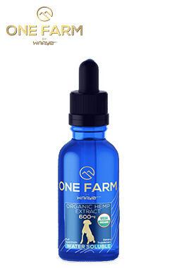 20mg/mL USDA Organic Water-Soluble CBD for Pets