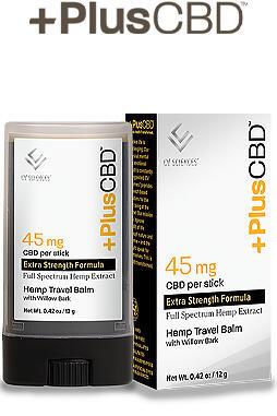 undefined - Plus CBD Balm 25mg Travel Size