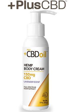 PlusCBD Oil - PlusCBD™ Oil Body Cream – Lavender