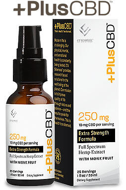 undefined - Plus CBD Drops 1oz 250mg Unflavored