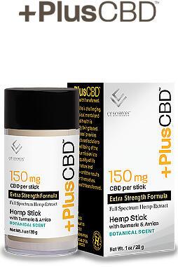 PlusCBD Oil - Plus CBD Balm 150mg Hemp Stick