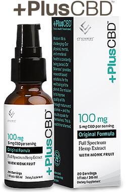 undefined - PlusCBD™ Oil Spray 100 mg 1 oz