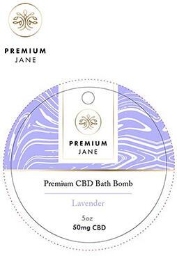 undefined - 50mg Lavender CBD Bath Bomb – 5oz