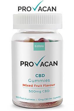 Provacan - CBD Gummies | 500mg CBD (10mg/gummy)