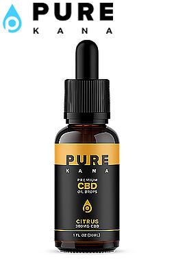 undefined - Citrus Flavor CBD Oil Drops 300mg