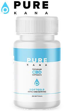 Pure Kana - CBD Capsules (40mg) | Made in the USA