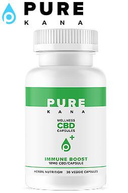 Pure Kana - CBD Immune Capsules (10mg / capsule)