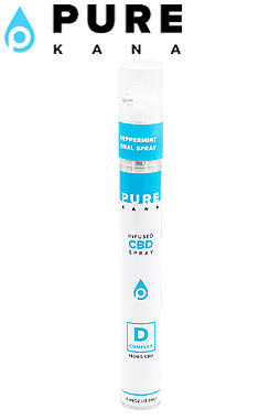 CBD Oral Spray Peppermint – 180mg CBD