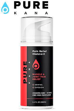 Pure Kana - CBD Pain Relief Topical (2000mg | 3oz)