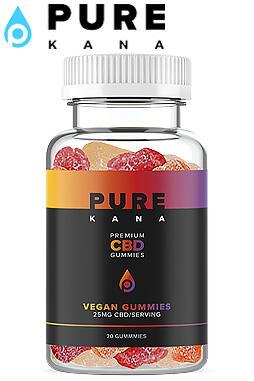Pure Kana - CBD Vegan Gummies 25mg Each