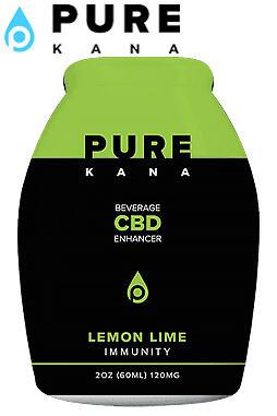 undefined - Lemon Lime (Immunity) CBD Beverage Enhancer