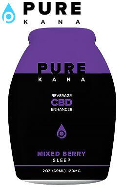 undefined - Mixed Berry (Sleep) CBD Beverage Enhancer