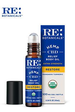 Extra Strength Relief Body Oil – Mandarin Turmeric