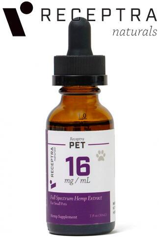undefined - Receptra Pet Tincture 16mg/Dose (1Oz)