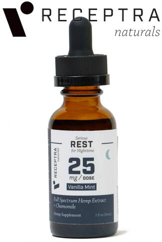 undefined - Serious Rest + Chamomile Tincture 25mg /Dose (1 oz.)