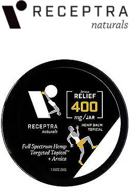 Receptra Naturals - Serious Relief + Arnica Targeted Topical - Fitness