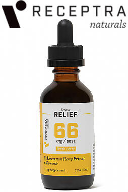 Serious Relief + Turmeric Tincture 66mg/dose (2oz)