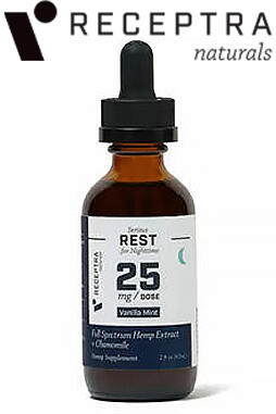 undefined - Serious Rest + Chamomile Tincture 25mg /dose (2 oz.)