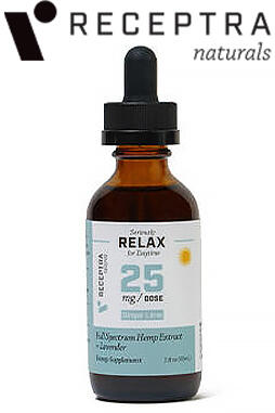 undefined - Serious Relax + Lavender Tincture 25mg /Dose (2 oz.)