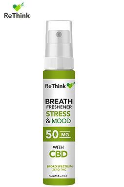 CBD ReThink - ReThink CBD Hemp Breath Freshener – Stress & Mood – 50MG