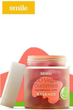 Smile CBD - CBD Vegan Gummies 300mg