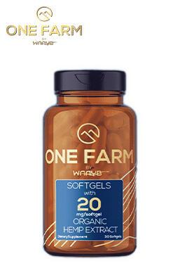 undefined - One Farm by WAAYB CBD Softgels 20mg 30ct