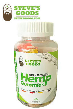 undefined - 60pk 10mg CBD Gummies – Slices (600mg total)
