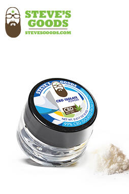 undefined - CBD Isolate Powder 0.5gr