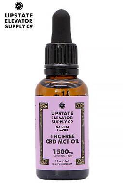 THC Free CBD MCT Oil 1500mg 30ml