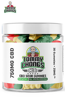 Tommy Chongs - 750MG Full Spectrum CBD Sour Gummies