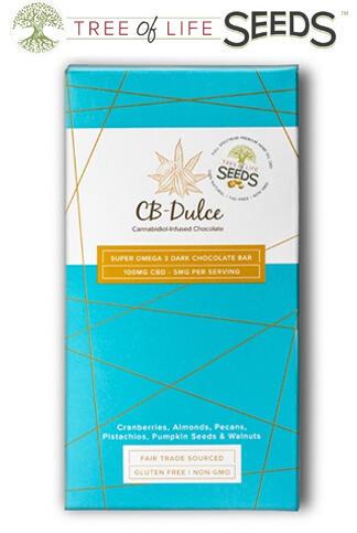 Tree of Life Seeds - CBD Oil Super Omega Chocolate Bar