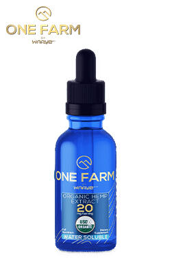 undefined - 20mg/mL USDA Organic Water-Soluble CBD