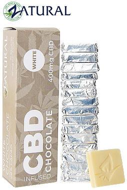 Zatural - Artisan CBD Chocolate - 400mg of CBD