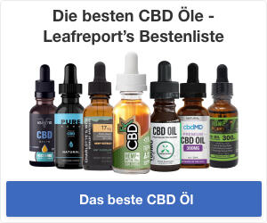 Leafreport's Auswahl der besten CBD Öle