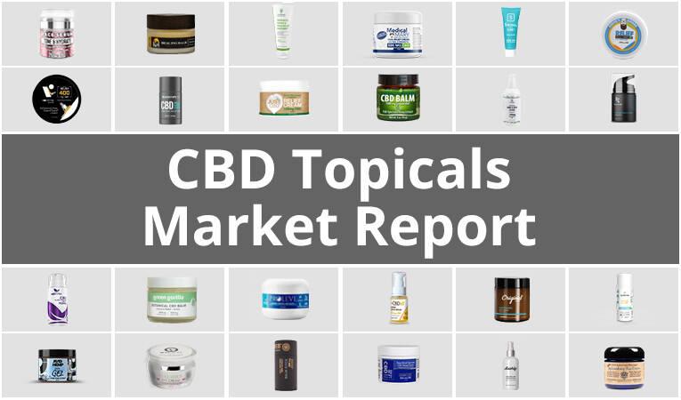 CBD topicals market report