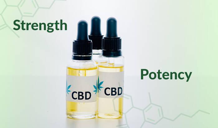 CBD Oil Strength Potency Explained