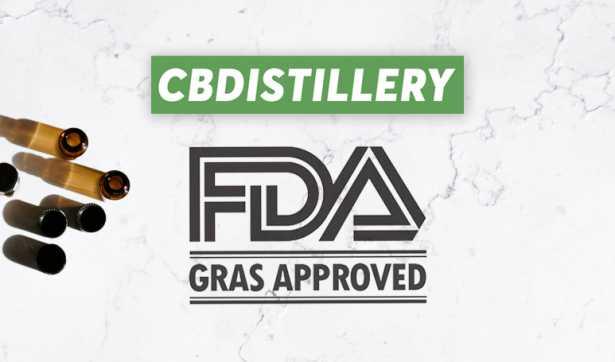 CBDistillery FDA GRAS